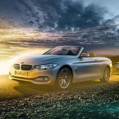 When the top comes down your heart rate goes up.  #BMW #4series