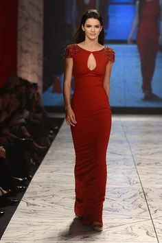 Kendall Jenner's Runway Evolution - The Heart Truth 2013 Fashion Show