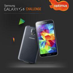 Amostras e Passatempos: Optimus - Samsung Galaxy S5 Challenge