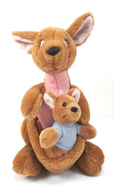 c27bfecda Disney KANGA AND ROO Plush Winnie the Pooh Stuffed Animal #Disney Selling  On Ebay,