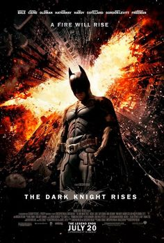 Latest 'Dark Knight Rises' poster sets the world on fire... but will it get higher? (Haha, get it?)
