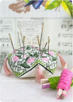 Biscornu by Annie's Granny Design - on Craft & Creativity