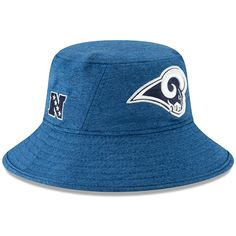 Men s Los Angeles Rams New Era Heathered Royal 2019 NFL Pro Bowl Bucket Hat 738e6e1f5