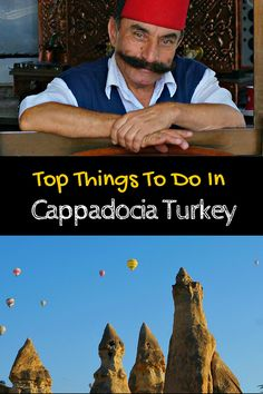 Cappadocia Turkey - discover fairy chimneys, underground cities and that famous Turkish hospitality.