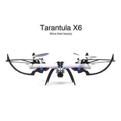 JJRC H16 YiZhan Tarantula X6 Wide Angle 3D Stunt Quadcopter with 5MP Camera With IOC - Black & white