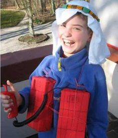 kid dressed as terrorist bomb vest worst halloween costumes bad halloween costumes for adult nasty funny halloween costumes wrong epics fails wtf stupid - Funniest Kids Halloween Costumes