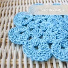 Set of 10 Vintage Crochet flower appliques by MSweetboutique, $20.00