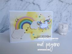 CTC 162 - Sweet Soiree with Sunshine and Rainbows by Mel Pagano at My Paper Oasis