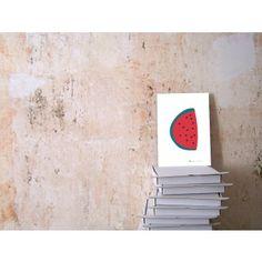 Maedchenwahn Fruchtcocktail Wassermelone Print (Din A4)