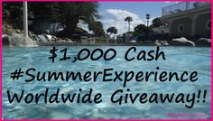Bring On The Heat With The #SummerExperience $1000 #Giveaway! Open WorldWide