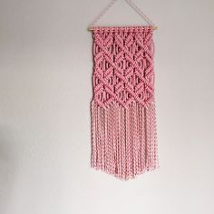 New macrame pattern available now.