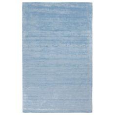 Surya Pure Sky Blue Hand Loomed Rug @LaylaGrayce