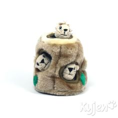 Dog Toys :: Puzzle Plush :: Hide A Squirrel Junior -