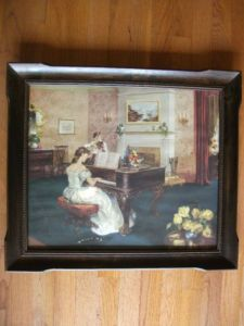 Vintage Framed T.M. Co Painting Print Victorian Lady Playing Violin Piano Art  http://cgi.ebay.com/ws/eBayISAPI.dll?ViewItem=390352180549=STRK:MESE:IT