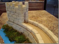 great wall of china from foam