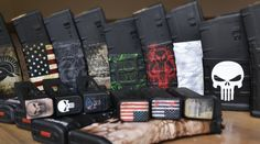 Mag Skins are available in a variety of Specialty Patterns.