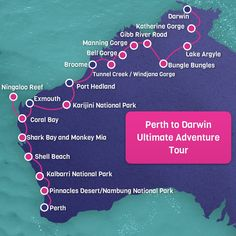 Perth to Darwin Adventure Tour 22 Days Western Australia <br> Transport: All Terrain Vehicle Difficulty: Challenging Accom: Mixed(Dorm Share and Camping) Duration: 22 days, 21 nights Food: Most M Outback Australia, Coast Australia, Australia Travel, Darwin Australia, Perth Western Australia, Queensland Australia, Nambung National Park, Kalbarri National Park, Travel Oz