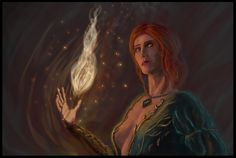 Fire of Novigrad  #triss #witcher3