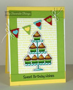 Sweet Birthday Wishes stamp set and Die-namics, Happy Birthday Background, Blueprints 17 Die-namics - Michele Boyer #mftstamps
