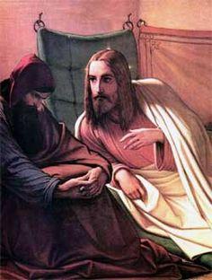 Jesus and Nicodemus ~ Jesus Explains to Nicodemus What It Is To Be Born Again ~ John 3