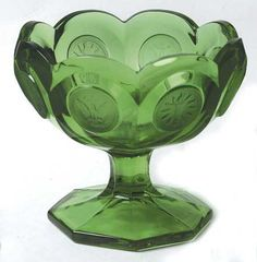 coin glass glassware | Coin Glass-Emerald Green