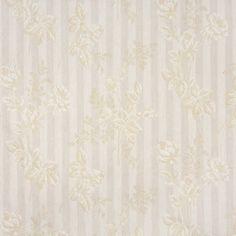 Savannah White Beach Brocade Upholstery Fabric