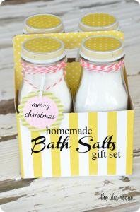 Original Post Bath Salts Recipe and Labels   Peppermint Label   Lemon Label   Lavendar Label