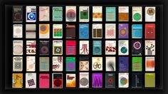 Covers – A series of 55 animated vintage book graphics How would these great book covers from the past look like when set in motion? Here we go… Animation:… Vintage Book Covers, Vintage Books, Book Cover Design, Book Design, Psychology Textbook, Typography Layout, Animation Reference, Motion Design, Retro