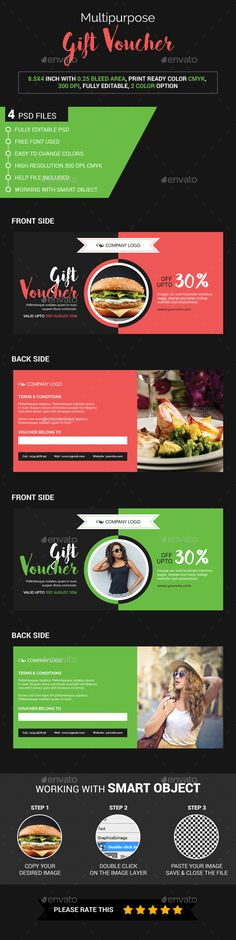 Valentine Gift Voucher Gift vouchers, Graphics and Font logo