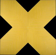 """ymutate: """" Frank Stella:(American, Haines City, 1963 Alkyd on canvas Dimensions: H.) Classification: Paintings Credit Line: Gift of Stanley Crantson, Frank Stella, Stella Art, Hard Edge Painting, Action Painting, Franz Kline, Jackson Pollock, Abstract Expressionism, Abstract Art, Modern Art"""