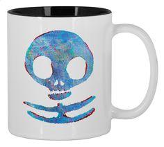 Winter War Skull Small Mug 330ml Design by Waukorbowy | Teequilla | Teequilla