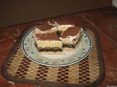 Linzer mákos krémes Hungarian Recipes, Tiramisu, Sweets, Ethnic Recipes, Sweet Stuff, Poppy, Food, Gummi Candy, Candy