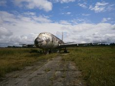 Destroyed and Abandoned — A derelict airplane in Iquitos, Peru.