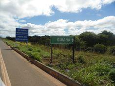 Rumo a Guiana