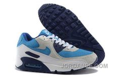 http://www.jordanse.com/nike-air-max-90-mens-beige-blue-white.html NIKE AIR MAX 90 MENS BEIGE BLUE WHITE Only 79.00€ , Free Shipping!