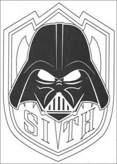 Star Wars coloring page (among others!)