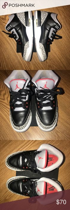 Nike Air Jordan Cement 3 s.  70 Nike Air Jordan Cement 3 s Size 5 1 2 Only  worn twice.  70 Nike Air Jordan Shoes Sneakers 1e136977f