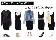 5 New ways to wear a little black dress
