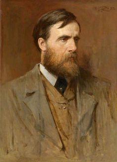 Self-portrait, 1882 by Sir George Reid (Scottish Oil on canvas, Aberdeen Art Gallery and Museums. Guy Drawing, Painting & Drawing, Selfies, Aberdeen Art Gallery, Art Nouveau, Chaim Soutine, Oil Portrait, Realism Art, Human Art