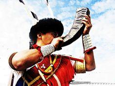 #warriors #horn #warcry #victory #naga #tribal