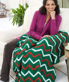 'Tis the Season Throw Crochet Pattern