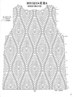 crochet top diagram/pattern