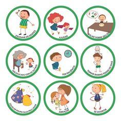 Adesivos Regras da Casa - BBDU Regras Super Nanny, Classroom Rules, Emotion, Vintage Owl, Picture Cards, Cartoon Kids, Kids Education, Diy Crafts For Kids, Kids And Parenting