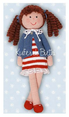 Gehäkelte Puppe /  Crochet Doll *** Doll