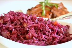 Braised Red Cabbage with Red Onion and Apples. Photo by Marg (CaymanDesigns)