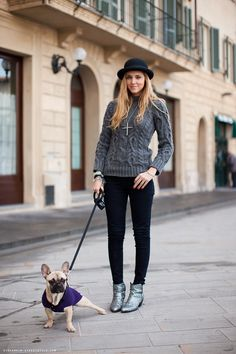 Dogs may be a man's best friend but they're a woman's best accessory