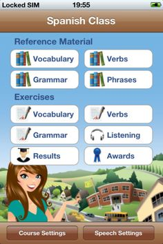 Check into this app to see if it's good for Spanish class--any ages, but maybe better for 4th and up.