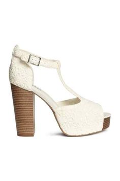 Lace T Bar Platforms from H&M R489,90