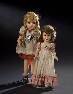 Two American Composition Dolls, Horsman & Ideal, - Cowan's Auctions