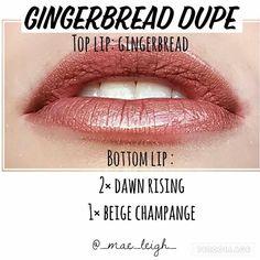 Image result for gingerbread lipsense shimmer or frost?
